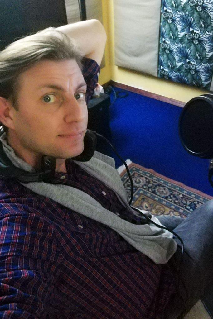 Thomas Centaro speaker audiolibri