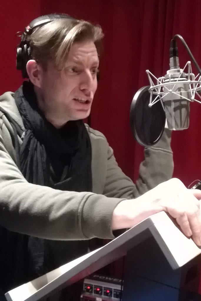 Thomas Centaro speaker pubblicitario