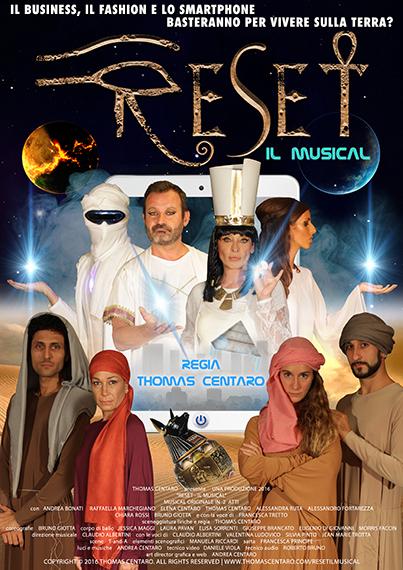 Reset Il Musical locandina