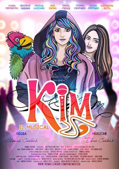 Kim - Il Musical locandina