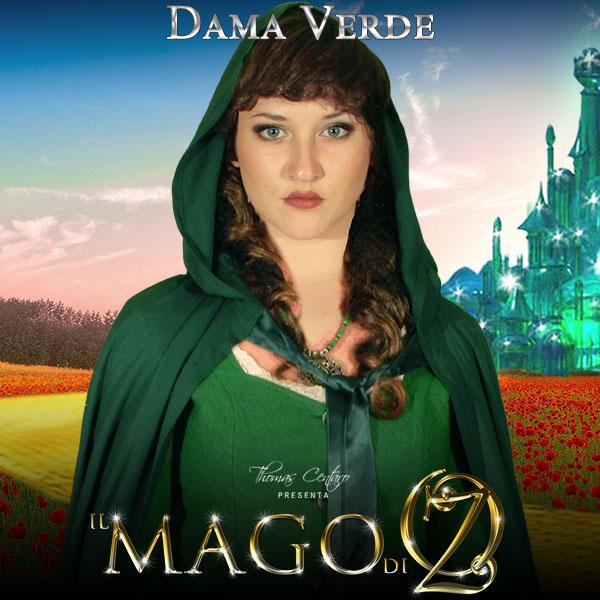 Il-Mago-Di-Oz-Character-Poster-Dama-Verde