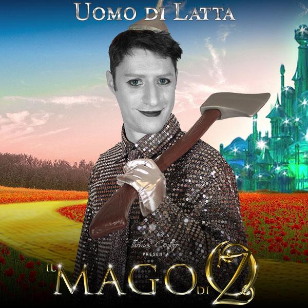 Il-Mago-Di-Oz-Character-Poster-Uomo-Di-Latta